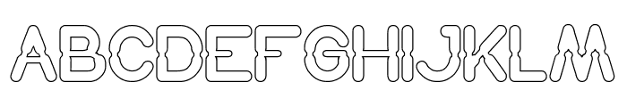Hydraulics System Italic Font UPPERCASE