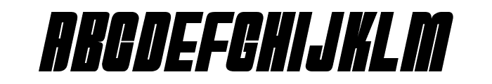 HydrogenBomb Font LOWERCASE