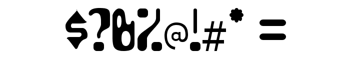 HydrogenWhiskey-Regular Font OTHER CHARS