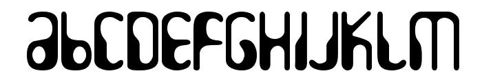 HydrogenWhiskey Font UPPERCASE