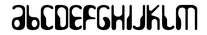 HydrogenWhiskey Font LOWERCASE