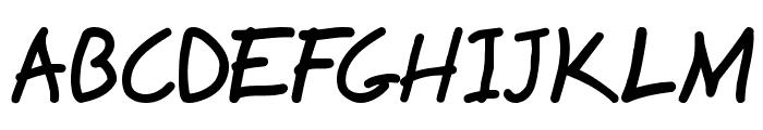 Hyena Font UPPERCASE