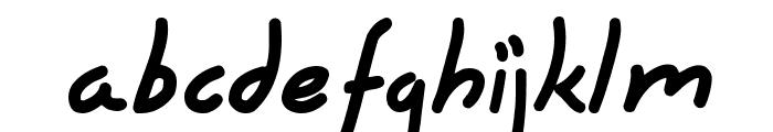 Hyena Font LOWERCASE
