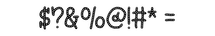 Hyggebukser DEMO Regular Font OTHER CHARS