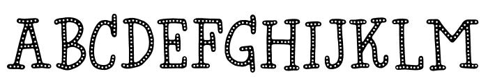 Hyggebukser DEMO Regular Font LOWERCASE