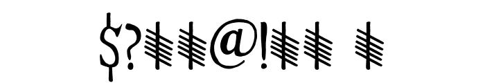Hyldemoer DEMO Regular Font OTHER CHARS