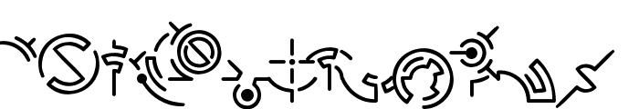 Hymmnos Font LOWERCASE