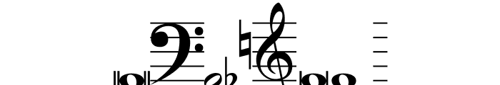 Hymnus FG Font OTHER CHARS
