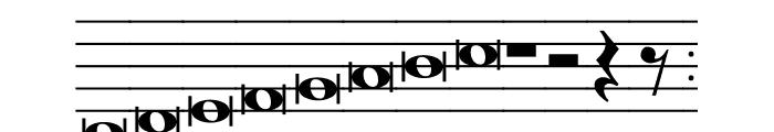 Hymnus FG Font UPPERCASE