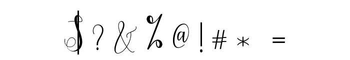 Hypatia Font OTHER CHARS