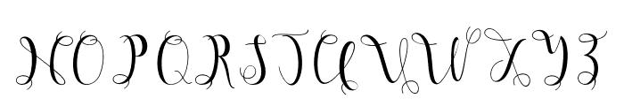 Hypatia Font UPPERCASE
