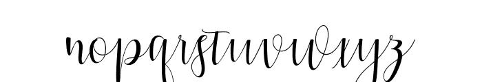 Hypatia Font LOWERCASE