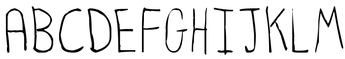 Hyperbole Font UPPERCASE