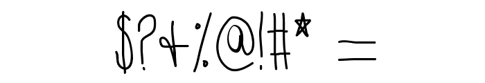 Hyperness Font OTHER CHARS