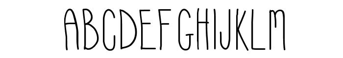 Hyperness Font UPPERCASE