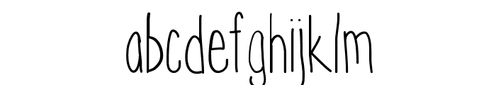 Hyperness Font LOWERCASE