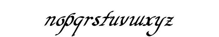 Hypertiroid - demo version Italic Font LOWERCASE