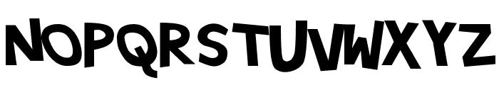 Hypewriter Bold Font UPPERCASE