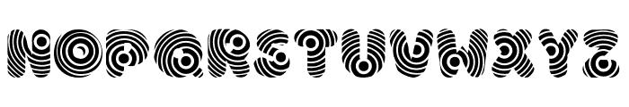 Hypmotizin Font UPPERCASE