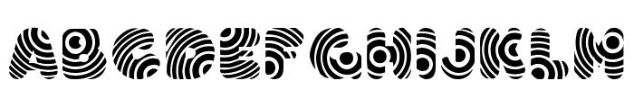 Hypmotizin Font LOWERCASE