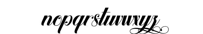 Hypnotica Font LOWERCASE
