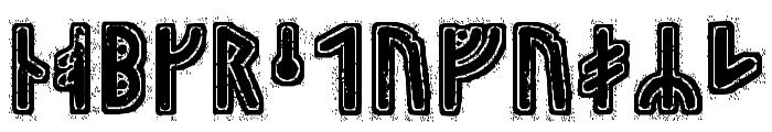 Hyrrokkin Runic Font LOWERCASE