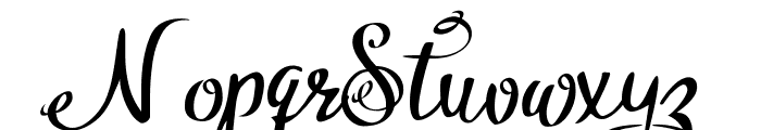 Hytag Demo Font LOWERCASE