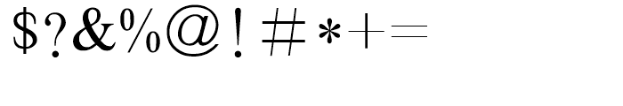 HY Bao Song Simplified Chinese B5 Font OTHER CHARS