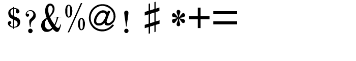 HY Chang Mei Hei Traditional Chinese F Font OTHER CHARS