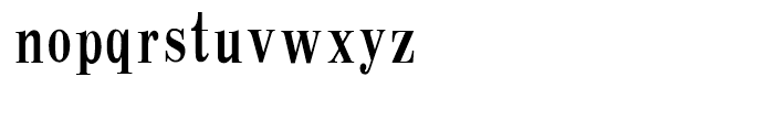 HY Chang Mei Hei Traditional Chinese F Font LOWERCASE