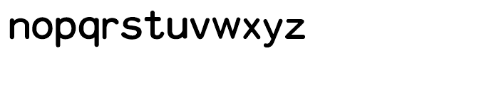 HY Cu Yuan Traditional Chinese F Font LOWERCASE