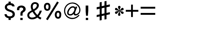 HY Da Hei Simplified Chinese J Font OTHER CHARS