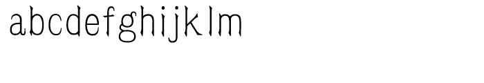 HY Fang Song Traditional Chinese F Font LOWERCASE