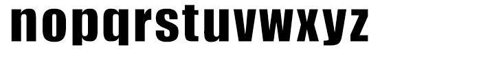 HY Headline Bold Font LOWERCASE