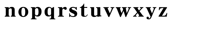 HY Myeong Ultra Bold Font LOWERCASE