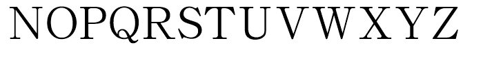 HY Shu Song Er Traditional Chinese F Font UPPERCASE