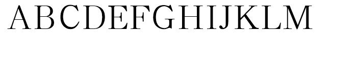 HY Shu Song Yi Simplified Chinese BJ Font UPPERCASE