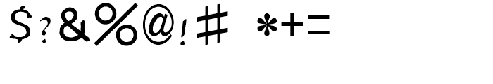 HY Shu Tong Simplified Chinese BJ Font OTHER CHARS
