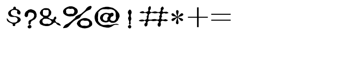 HY Zhen Zhu Li Simplified Chinese J Font OTHER CHARS