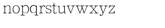 HY Zi Dian Song Simplified Chinese J Font LOWERCASE