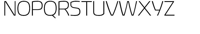 Hybrea Extralight Font UPPERCASE
