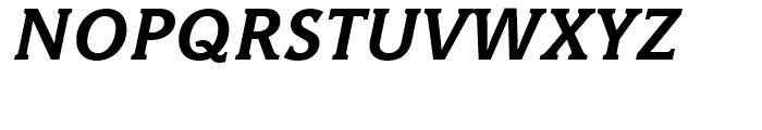 Hybrid Bold Italic Font UPPERCASE