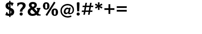 Hybrid Bold Font OTHER CHARS