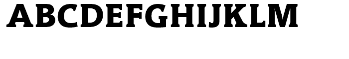 Hybrid ExtraBold Font UPPERCASE
