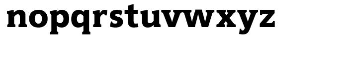 Hybrid ExtraBold Font LOWERCASE