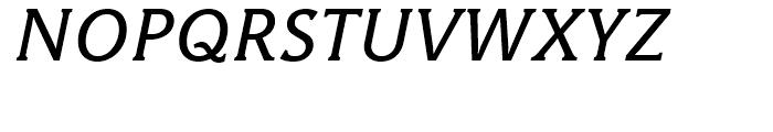 Hybrid Medium Italic Font UPPERCASE