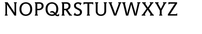 Hybrid Medium Font UPPERCASE