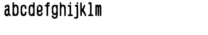 Hypermarket Condensed Font LOWERCASE