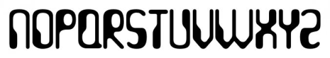 Hydrogen Whiskey Regular Font UPPERCASE