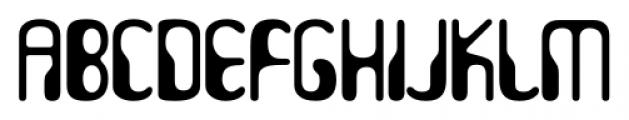 Hydrogen Whiskey Regular Font LOWERCASE